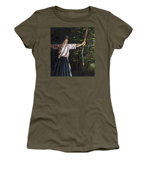 Zanshin Women's T-Shirt (Athletic Fit)