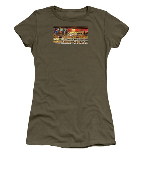 Zingermans Deli Ann Arbor  5046 Women's T-Shirt (Junior Cut) by Jack Schultz
