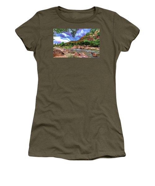 Zion At Daybreak Women's T-Shirt (Athletic Fit)