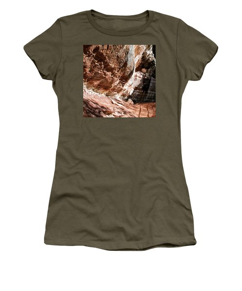 Women's T-Shirt featuring the photograph Zion--lower Emerald Pools Trail #2 by PJ Boylan