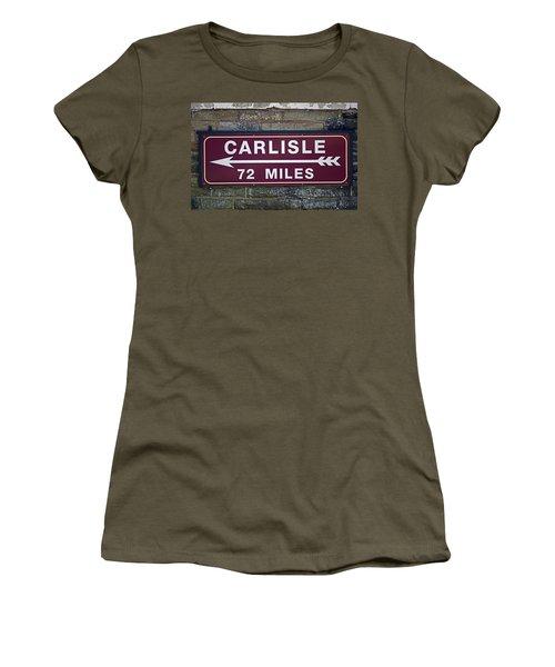 06/06/14 Settle. Period Destination Board. Women's T-Shirt