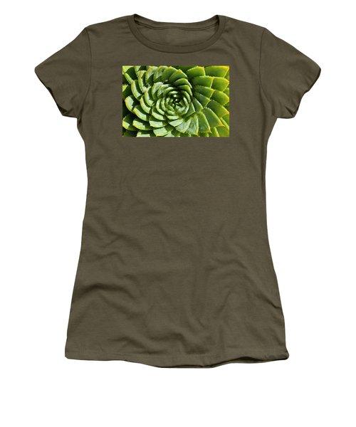 Aloe_polyphylla_8536.psd Women's T-Shirt