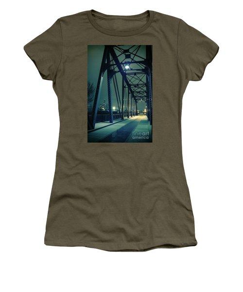 Chicago Railroad Bridge Women's T-Shirt