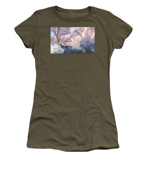 Christmas Lace Women's T-Shirt