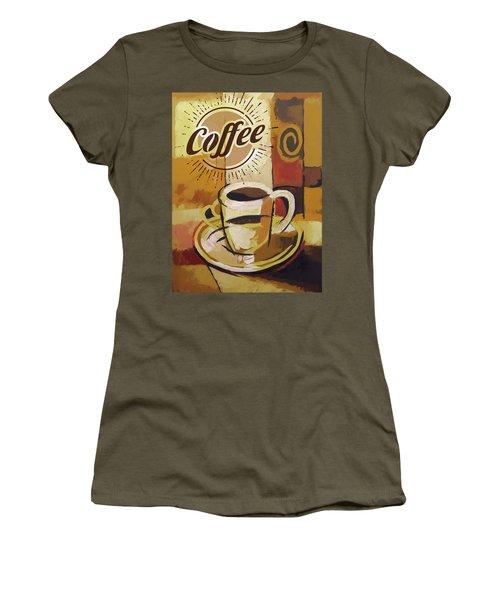 Coffee Poster Women's T-Shirt