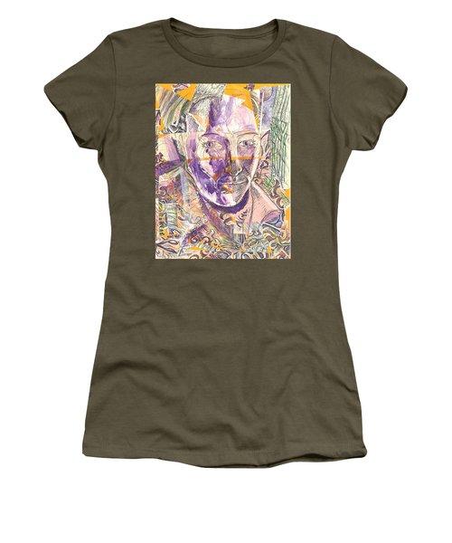 Cut Portrait Women's T-Shirt