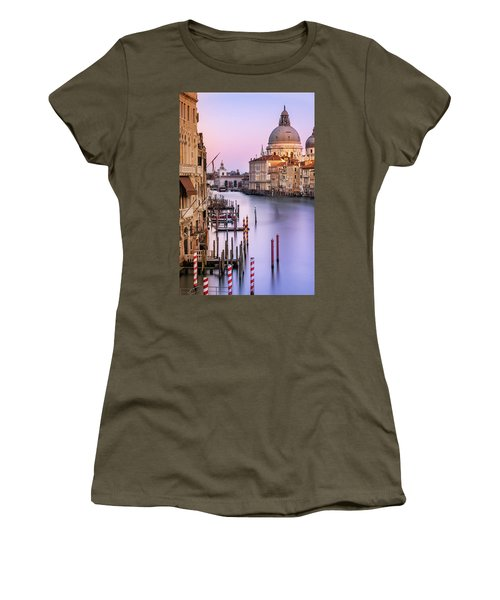 Evening Light In Venice Women's T-Shirt