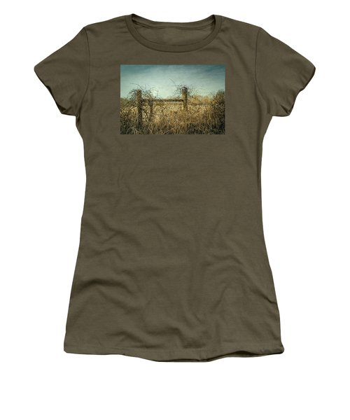 Women's T-Shirt featuring the photograph Faded Beauty by Allin Sorenson