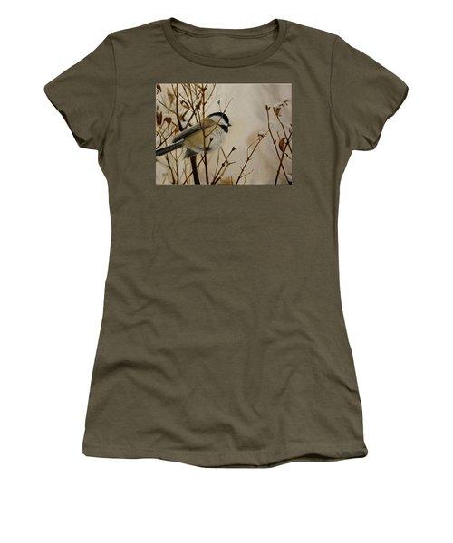 Faithful Winter Friend Women's T-Shirt