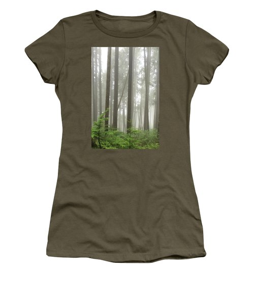 Foggy Forest Women's T-Shirt