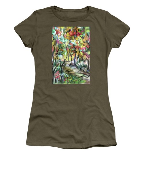 Forest Path Women's T-Shirt