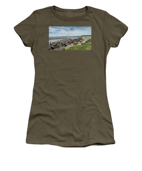 Morecambe. Hest Bank. The Shoreline. Women's T-Shirt