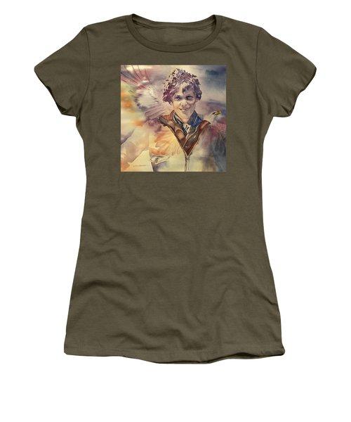 On Eagles Wings Women's T-Shirt