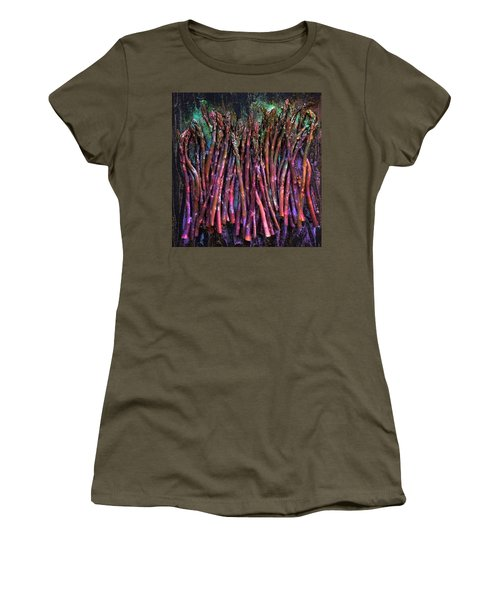 Purple Asparagus Women's T-Shirt