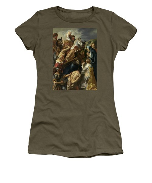 The Carrying Of The Cross, 1657 Women's T-Shirt