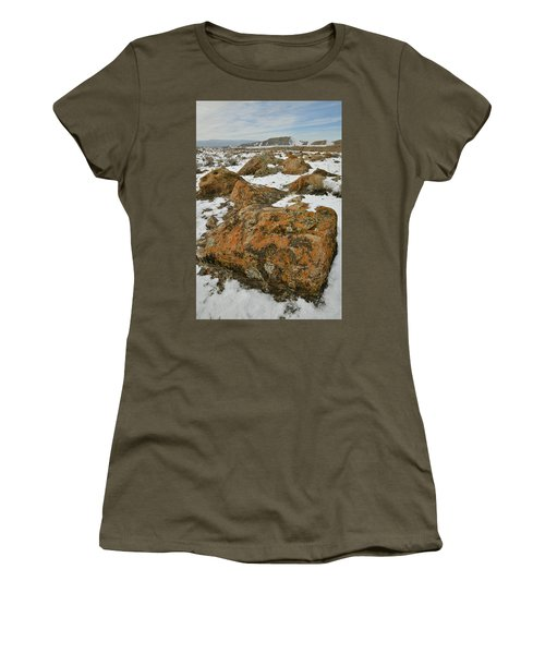 The Many Colors Of The Book Cliffs Women's T-Shirt