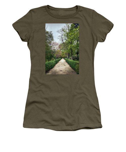 The Paths Of The Retiro Park Women's T-Shirt