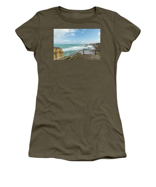 Twelve Apostles Sea Rocks Women's T-Shirt