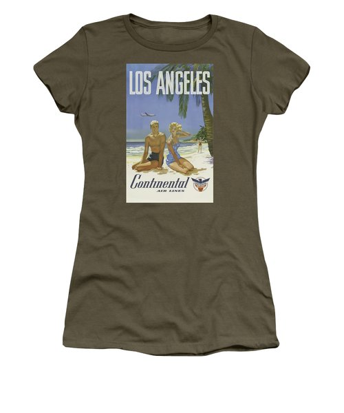 Vintage Travel Poster - Los Angeles Women's T-Shirt
