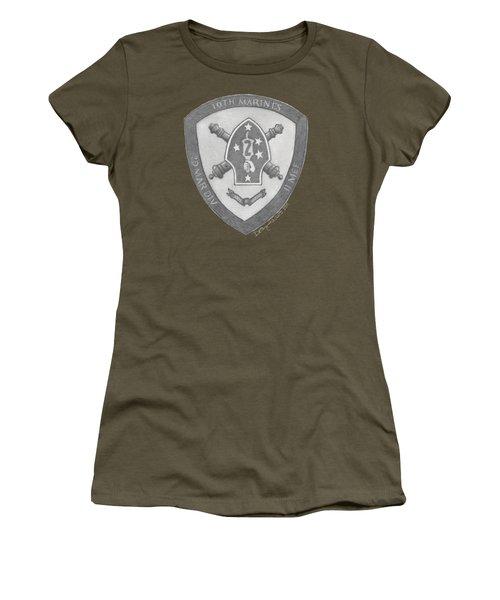 10th Marines Crest Women's T-Shirt