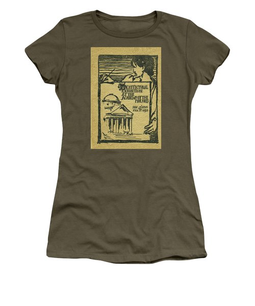 1894-95 Catalogue Of The Architectural Exhibition At The Pennsylvania Academy Of The Fine Arts Women's T-Shirt