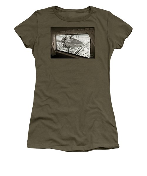 1928 Ford Tri-motor Women's T-Shirt