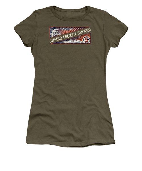 1950s Jumbo Frozen Sucker Women's T-Shirt