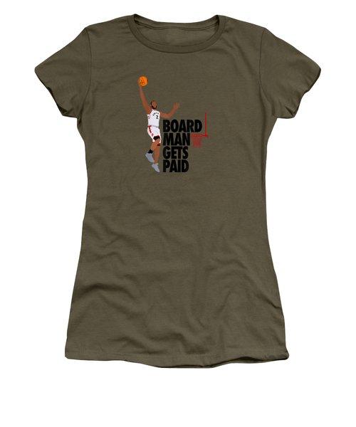 Board Man Gets Paid Shirt T-shirt Women's T-Shirt