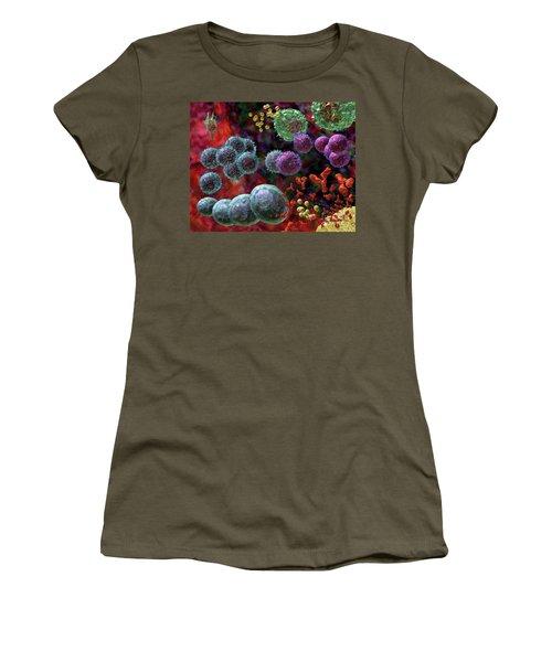 Immune Response Antibody 4 Women's T-Shirt