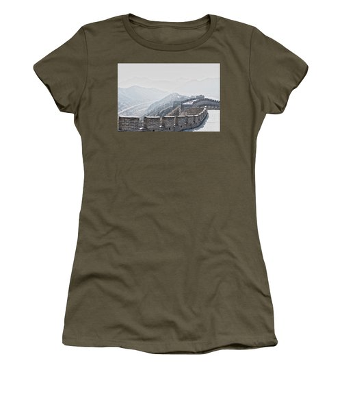 The Great Wall Of China Women's T-Shirt