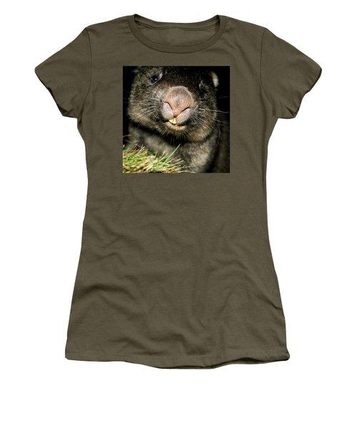 Wombat At Night Women's T-Shirt