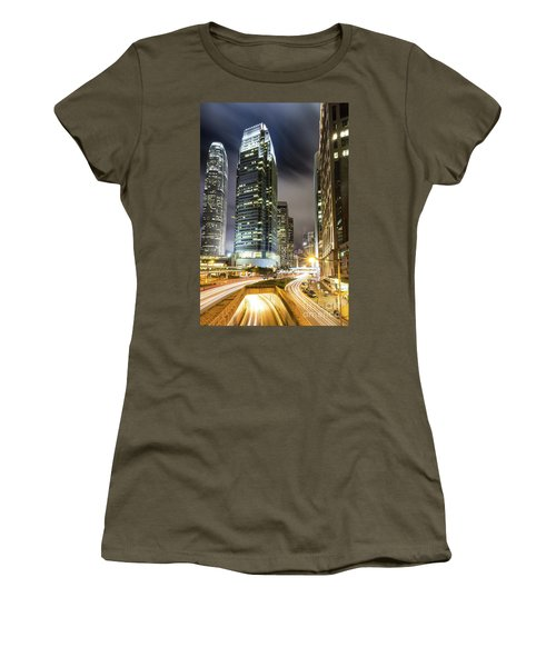 Hong Kong Night Rush Women's T-Shirt