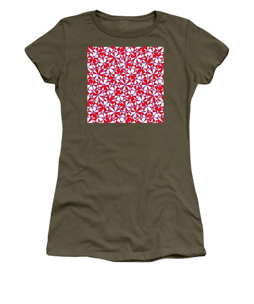 Crazy Psychedelic Art In Chaotic Visual Color And Shapes - Efg22 Women's T-Shirt