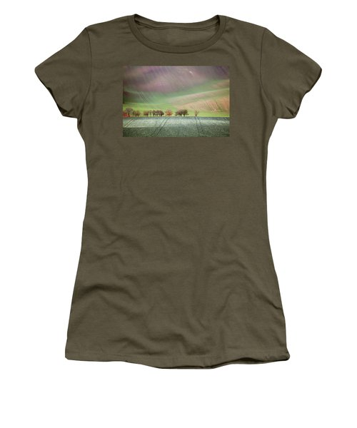 Women's T-Shirt featuring the photograph Autumn In South Moravia 3 by Dubi Roman