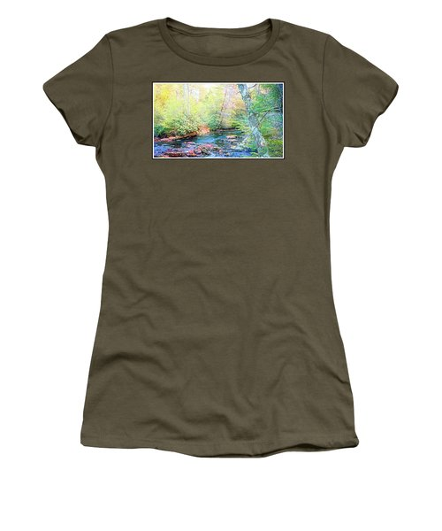 Pocono Mountain Stream, Pennsylvania Women's T-Shirt