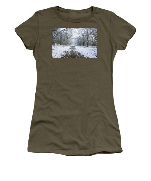 30/01/19  Rivington. Lower Barn. Arboretum Path. Women's T-Shirt