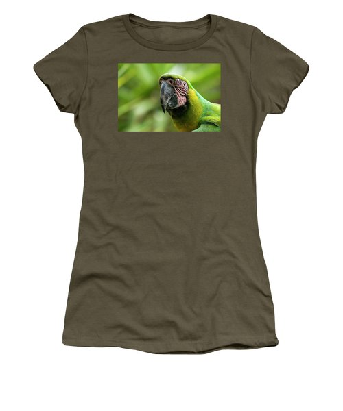 Women's T-Shirt featuring the photograph Beautiful Macaw Bird by Rob D Imagery