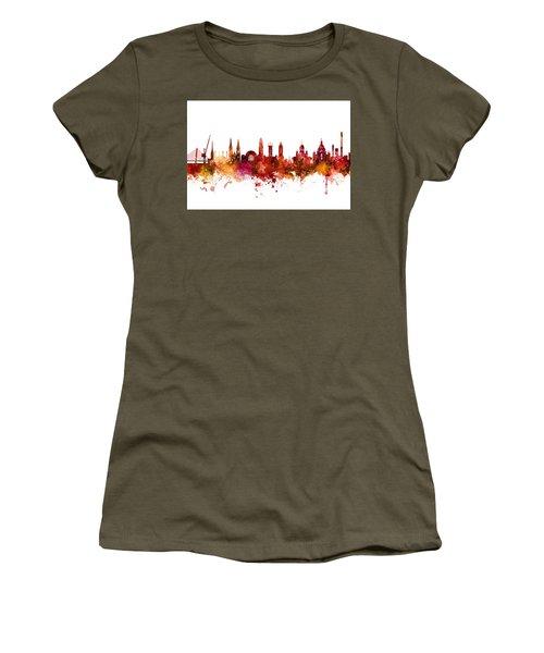 Helsinki Finland Skyline Women's T-Shirt