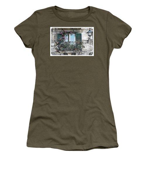 A Balcony In Palermo Women's T-Shirt
