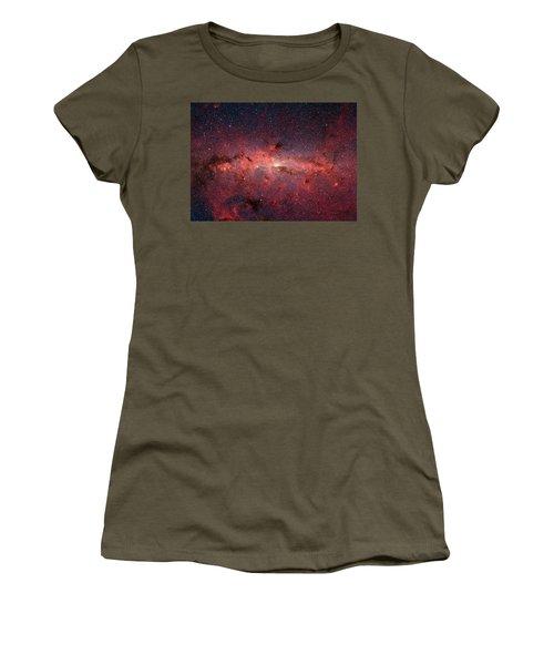 A Cauldrun Of Stars At The Milky Way Galaxy Center Women's T-Shirt