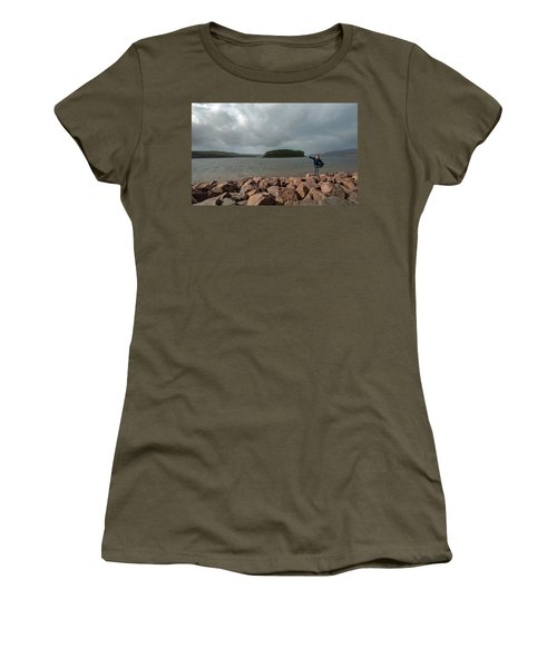 A Charming Little Girl In The Isle Of Skye 1 Women's T-Shirt