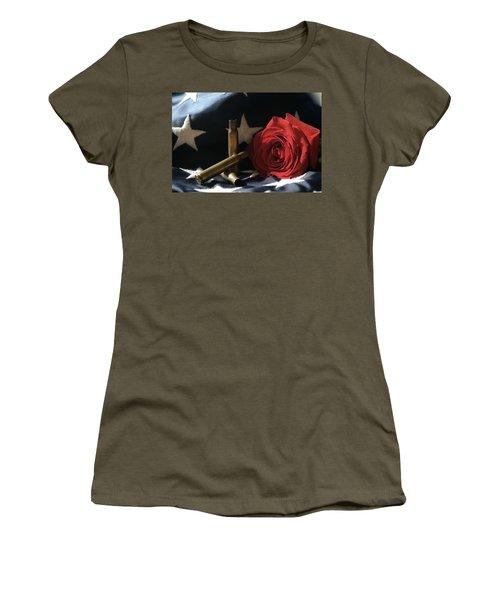 A Patriots Passing Women's T-Shirt
