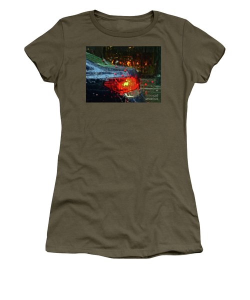 A Rainy Day In Nyc Women's T-Shirt