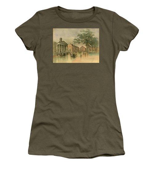 A Southwestern View Of Washington Square Women's T-Shirt