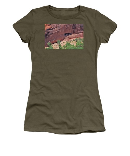Abandonded Shelter Women's T-Shirt
