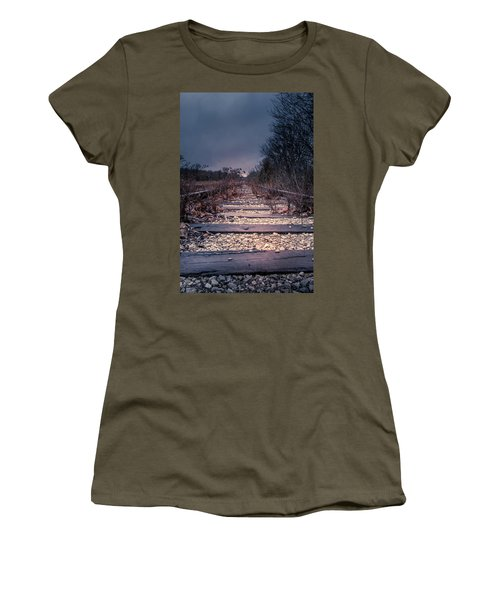 Women's T-Shirt featuring the photograph Abandoned by Allin Sorenson