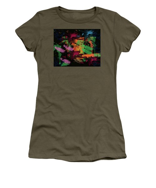 Abstract Action Series 01 Women's T-Shirt