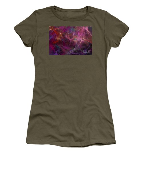 Abstract Colorful Fireworks Women's T-Shirt