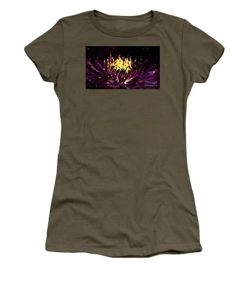 Abstract Digital Dahlia Floral Cosmos 891 Women's T-Shirt