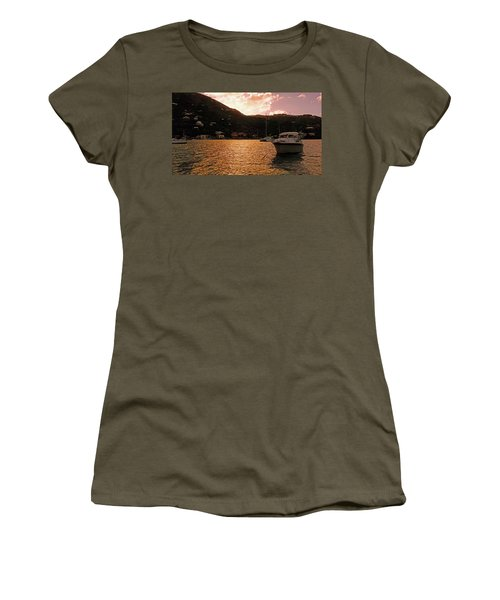 Abstractions Of Coral Bay Women's T-Shirt